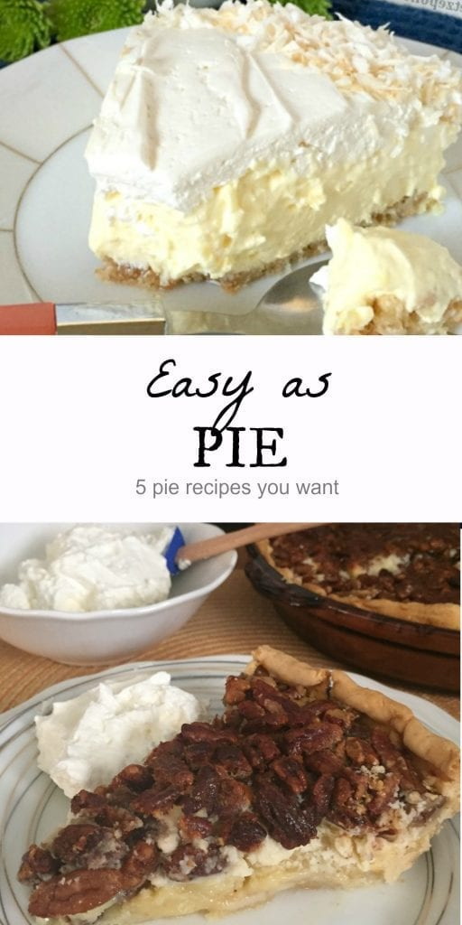 5 pie recipes you want to try this year. Easy as #PiDay / more recipe at mysweetzepol.com