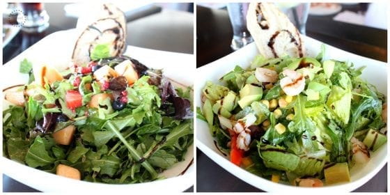 A variety of fresh green salads a la carte or custome order, you choose, at MidiCi The Neapolitan Pizza Company in Central Florida, find more at mysweetzepol.com