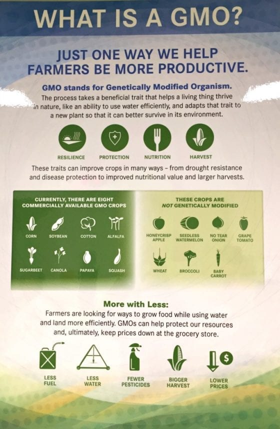 What is a GMO? Learn more here and find some really good resources / The Science Behind Food #FarmFoodTour