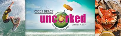 Cocoa Beach Uncorked Food, Wine and Craft Beer Festival / celebrate summer / more at mysweetzepol.com