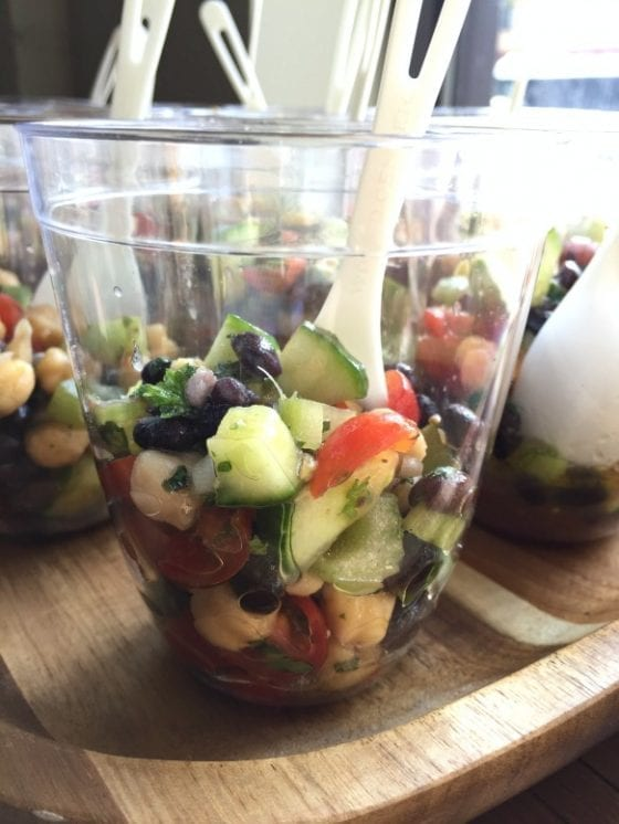 The beset Cool Beans Salad from Create Your Nature, #getyourbowlon in Orlando #CFLB