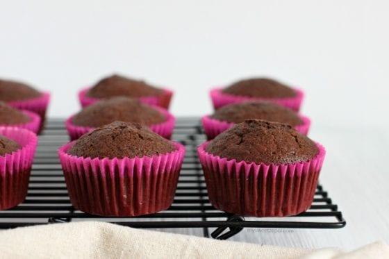 Flourless Mocha Cupcakes, the perfect gluten free cupcake. recipe @ mysweetzepol.com