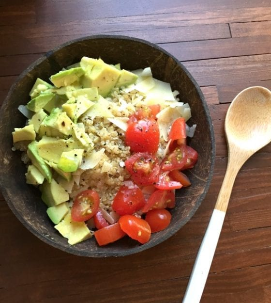 The best savory bowl, Lacey Caprese Signature Oat Bowls from Create Your Nature #getyourbowlon in Orlando #CFLB