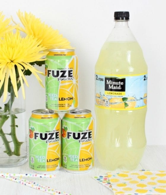 Use your Minute Maid or Fuze to make a delicious Guava Frozen Lemonade is going to blow your mind away. Only two ingredients and you'll be impressing everyone with this flavor combination! Happy entertaining! #SummerRefreshment find the recipe @ mysweetzepol.com #Publix #CollectiveBias AD
