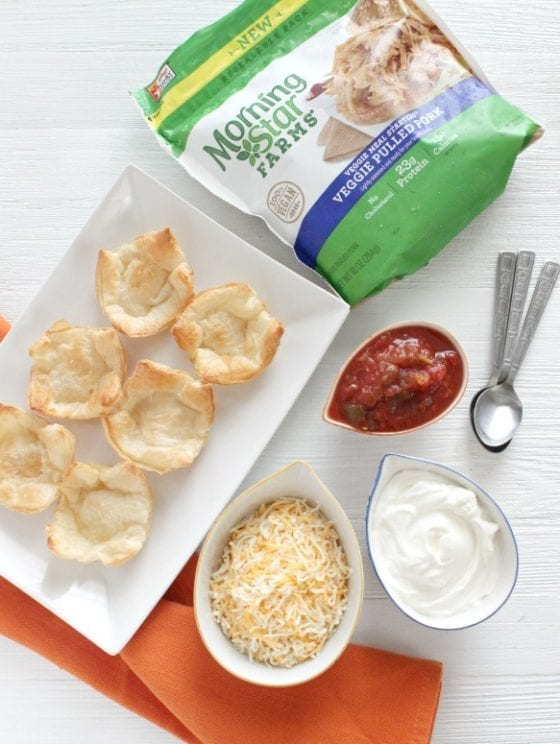 A winner recipe perfect for tailgating season! Veggie Pulled Pork Phylo Cups, super easy to make, good for you and a favorite for the entire family. #TailgateWithATwist #SeasonalSolutions #CollectiveBias ad learn how to make it at mysweetzepol.com (Winner Veggie Pulled Pork Phylo Cups for Tailgating Season)