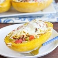 Simple Beef-Stuffed Spaghetti Squash