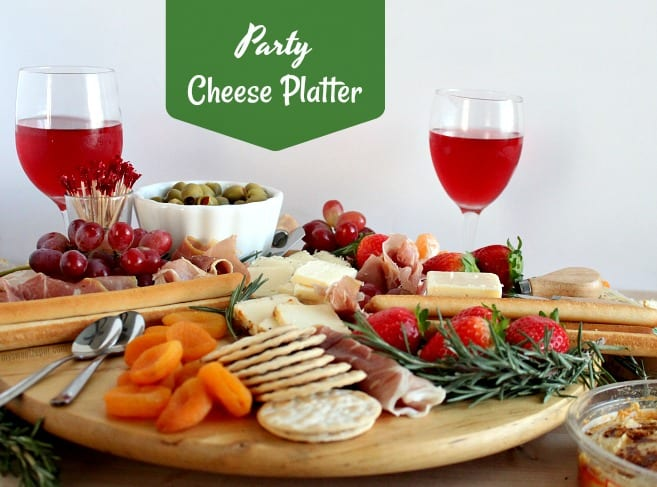 Party Size Cheese Platter - My Sweet Zepol