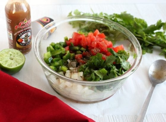Make this tamarind-habanero pico de gallo and you'll have everyone asking you for your secreat ingredient! Grab the recipe at mysweetzepol.com