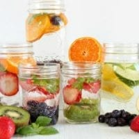 5 Healthy Detox Water Recipes with Fresh Fruits