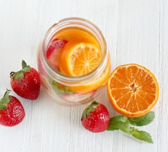 My ultimate favorite water detox recipes... 5 Healthy Detox Water Recipes with Fresh Fruits. Grab them at mysweetzepol.com #detoxing #healthyliving