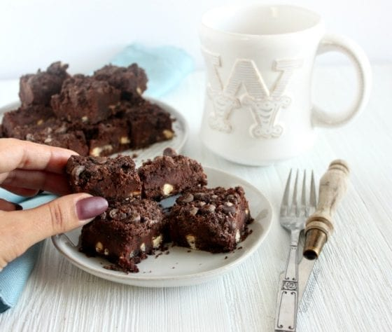 Grab this Ultimate Triple Chocolate Bars and treat yourself, get the recipe at mysweetzepol.com