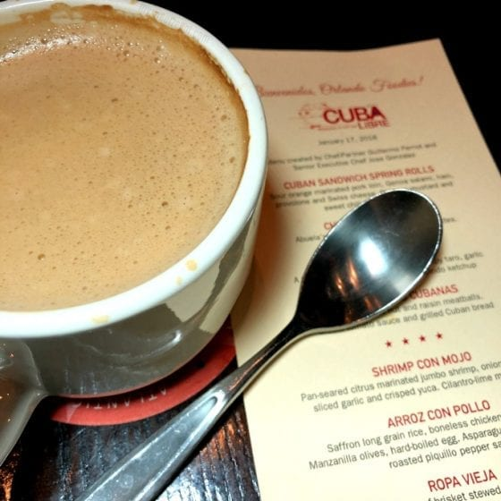 Coffee with Coconut Milk from Cuba Libre Restaurant. Read more about @ mysweetzepol.com #VisitFlorida #travel