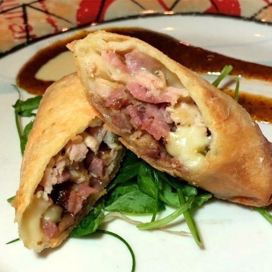 Cuban Sandwich Spring Rolls from Cuba Libre Restaurant. Read more about @ mysweetzepol.com #VisitFlorida #travel