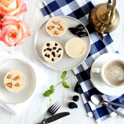 Vegan, Gluten-Free, Dairy-Free Mini Cheesecakes