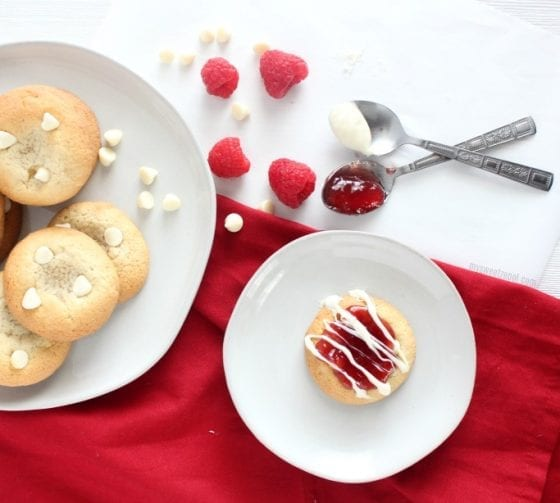 Melt in your mouth White Chocolate Raspberry cookeis! Grab the recipe @ mysweetzepol.com and learn how you can be a #helpingcookie too! Give back, and be part of a difference one cookie at a time @CookiesforKids @OXO @MediaVine @DixieCrystals