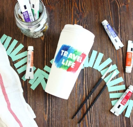The BEST 5 tips for an enjoyable summer and a tumbler DIY for all your summer adventures #ReLAXOnTheGo #CollectiveBias #ad
