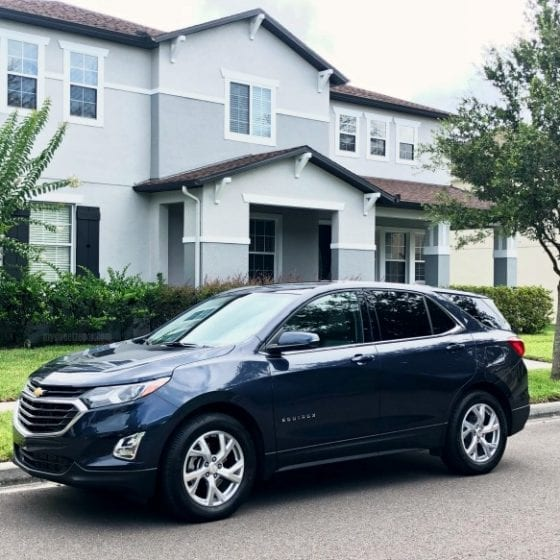 Test driving Chevrolet Equinox 2018 and sharing some tips on having peace of mind when your teenager is driving. Find more at mysweetzepol.com #carreview