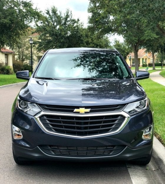 Test driving a Chevrolet Equinox 2018, How to have peace of mind when your teenager is driving