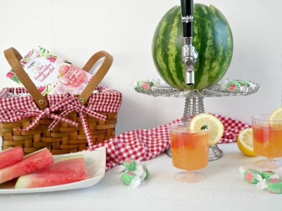 refreshing watermelon lemonade is the best way to make any day a great one!