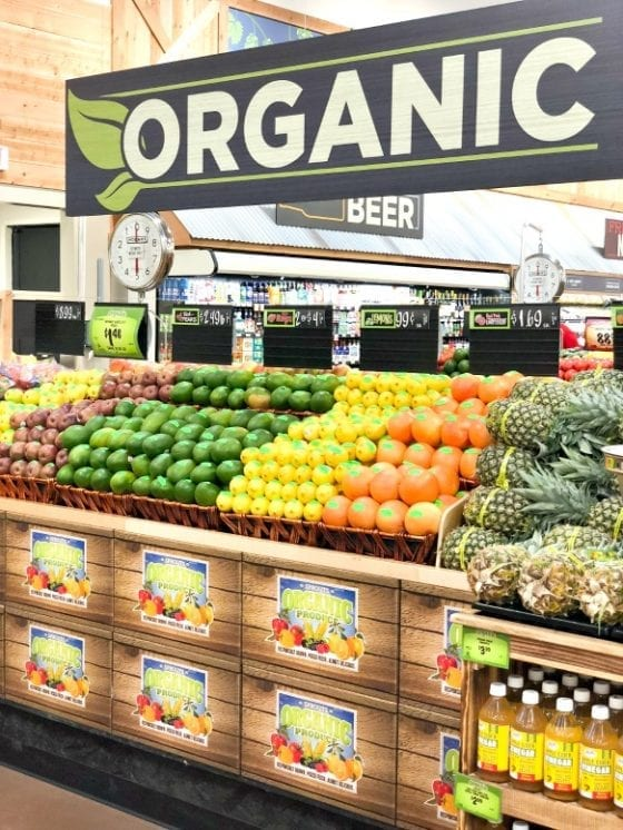 Sprouts Farmers Market Organic section is a must see.