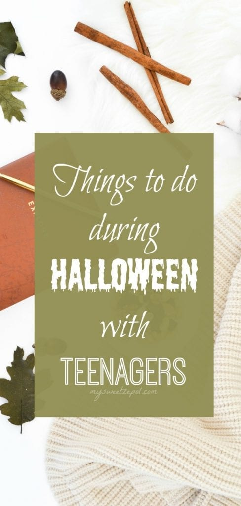 things to do during Halloween with teenagers