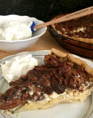 Cream Cheese Chocolate Pecan Pie
