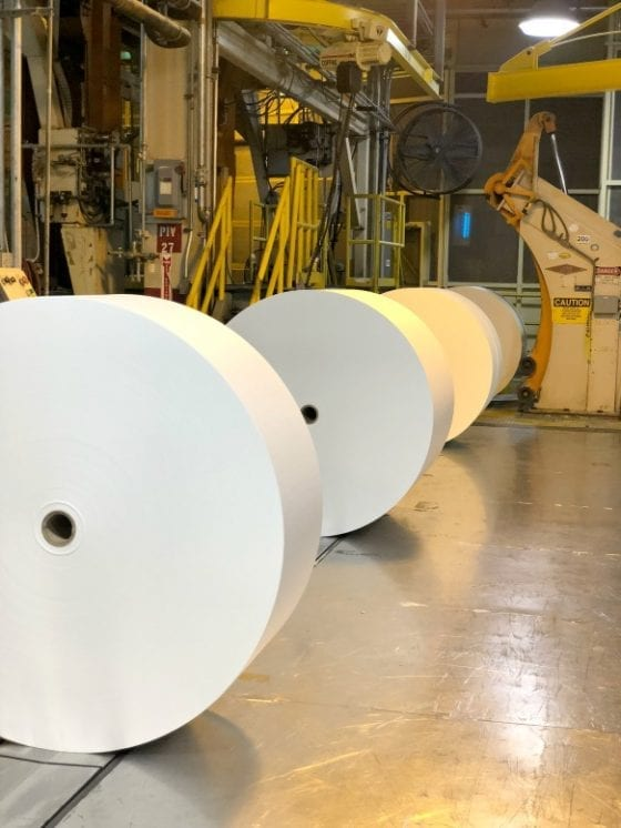Georgia-Pacific Foley Cellulose mill / where you'll find rolls of paper #GPinFL