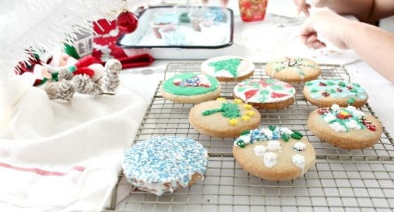Cookie Decorating Party for the Holidays with Kids / Second Harvest Food Bank / Orlando Florida