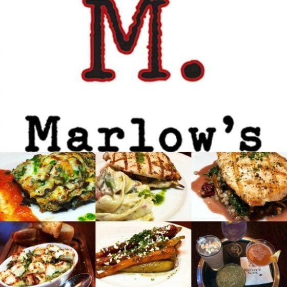 Marlow's Tavern Winter/Fall Menu (available through March). Orlando, FL (Lee Vista) near Orlando International Airport
