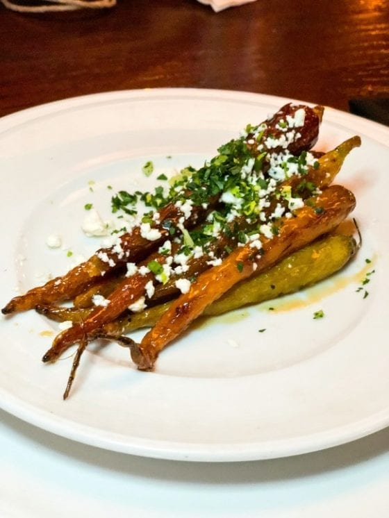 Roasted Heirloom Carrots / Good eats and good drinks at Marlow's Tavern in Lee Vista, Orlando FL / more of the menu at mysweetzepol.com