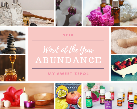 Our word of the Year 2019 is Abundance; because #weallgrow together