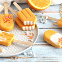 Creamsicle Cake Pop