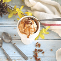 Salted Caramel Pumpkin Ice Cream