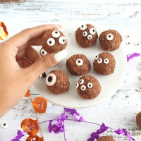 Spiced Chocolate Monster Truffles