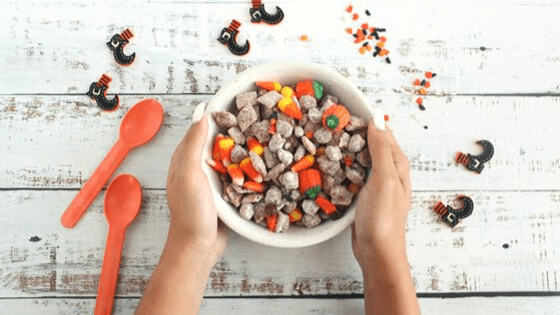 Witches Midnight Puppy Chow