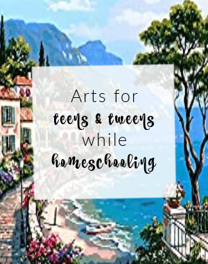 number art designs, Arts for teens and tweens while homeschooling