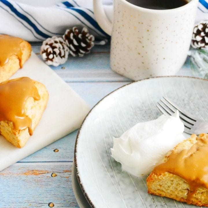 Coffee_Cream_Cheese_Scones_with_hot_cup_of_coffee