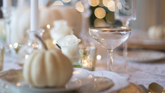 Thanksgiving Table Decor and Desserts Ideas