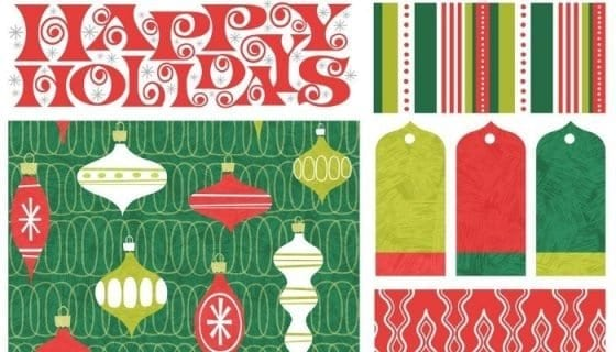 gift wrapping tips and supplies needed for Christmas presents