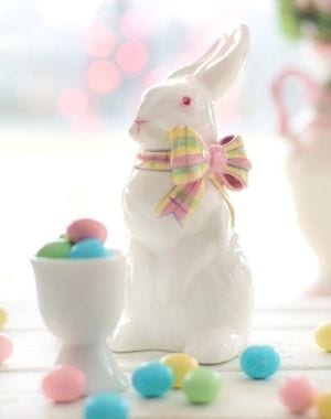 Easter Sunday recipe ideas - bunny with egg candies