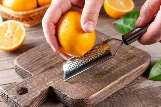 Zester-baking tool essential for beginner cooks