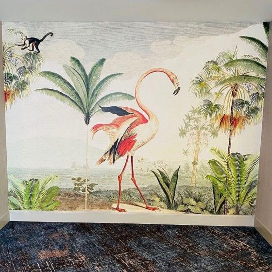 Caribe Royale Orlando tropical suite lobby decor