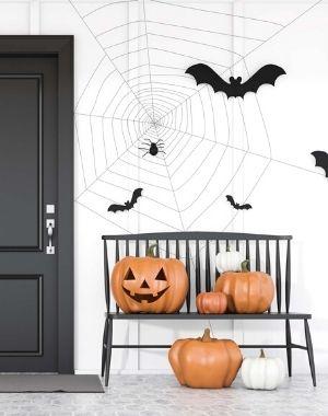 Halloween-Front-Porch-Pumpkins-type-of-black-orange-white-Halloween-Decorations-My-Sweet-Zepol-blog